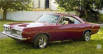 1969 Barracuda Low Miles Mint